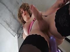Lady GAGA Sexy Evolution vs Hot Strokin Shemale