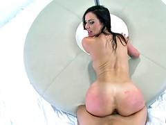 Glamorous mature slut gets banged hard from behind