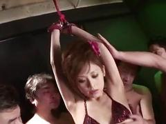 Miina Yoshihara gets ravished in serious porn show