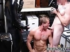 Naked muscled hunks gay sex Dungeon master with a gimp