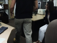Customers wife agreed to get fucked by perv pawnkeeper