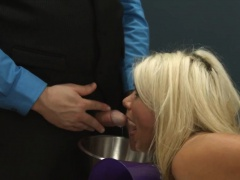 Submissive BDSM sex with butthole whore