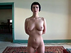 gorgeous brunette sex slave