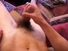 Amateur Straight Boy Carson Beats Off