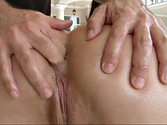 looks like geni is ready to impale that anus on the rock-solid cock
