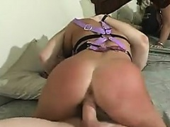 Blonde Slut Gets Pussy And Anal Fucked