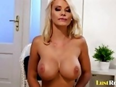 Incredible solo action with the busty Caylian Curtis
