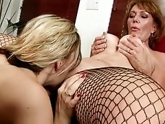 These mature stocking-clad wives cant get enough of each others sweet pussy juice