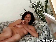Handjobs from a hot mature