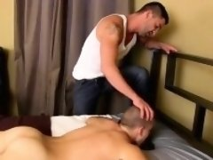 Twink movie of After using that fuckhole and throating his c