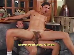 Men Fucking in the Living Room