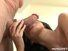 Nikki Daniels takes huge facial
