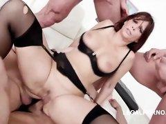 This Slut is into a hot Gang Bang audition