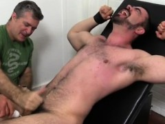 Male toe job gay Dolan Wolf Jerked & Tickled