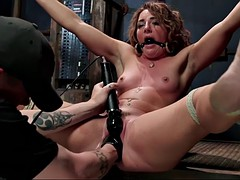 whipping, finger fucking and fisting makes savannah fox squirt hard