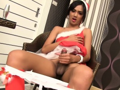 Ladyboy Dream Toying n Stroking