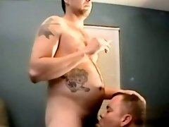 Amazing twinks Joe Gets A Load From