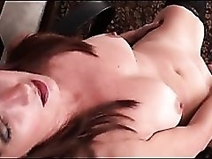 Curvy cougars office orgasm