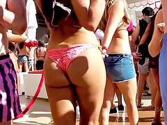 candid bikini ass 6