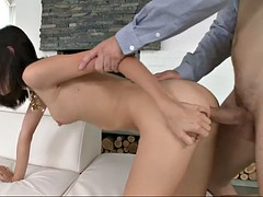 pussy licking makes arian turn around and be doggy styled