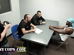 Big boy and cops playing anal game