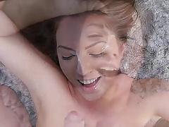 Maddy facial cumshot