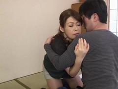 Attractive Asian MILF loves being rammed like theres no tomorrow