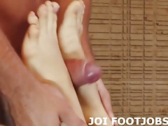 Lube up my little feet and fuck them
