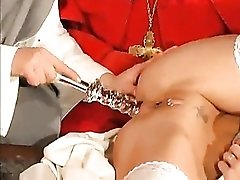 Nun and priest hardcore fun porn