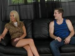 Milf receives on the very top of pleasures