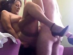 Fucking my older bitch standing