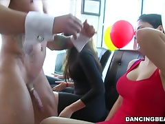 Cum hungry party girls get what they want