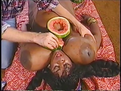ebony monster boobs vintage nboobs
