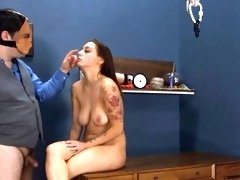 Extremely hardcore BDSM rope havingsex with anal action