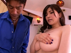 Bodacious Asian milf gets her hairy beaver licked and fucked