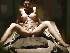 Busty pornstar Aletta Ocean has wild bondage sex BDSM movie