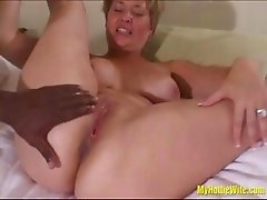 bbc filling her pussy up