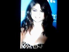 Selena Gomez Cum Tribute 1#