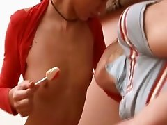 sweet teens from Russian and lollipops