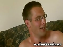 Real amateur couple showing their sex part4