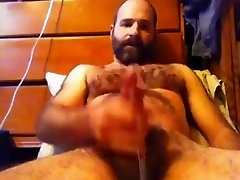 Hot bear jerking