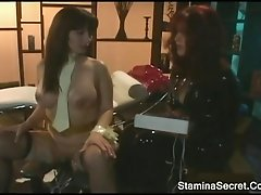 Hot Lesbians Play Their Rubber Toys