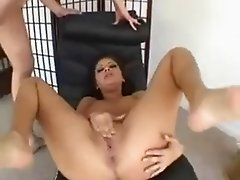 Sativa Rose fuck & swallow cum
