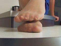 Nylon Feets 35