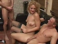 GANGBANG CELEBRATION FOR A FINE LADY 3
